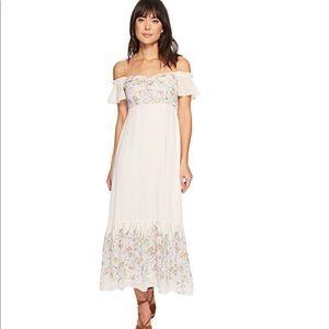 ASTR the label Angelina off shoulder blush dress